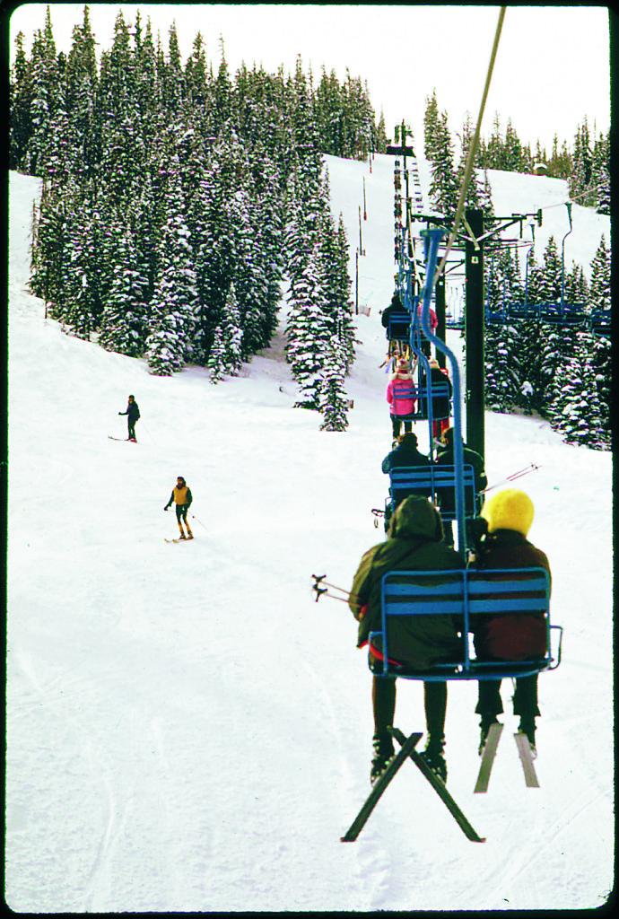 """I skidorten Aspen var det länge strikt, men på 1960-talet flyttade Hunter S Thompson och ett antal """"freaks"""" dit. De lade sig snart i lokalpolitiken. Foto: Ron Hoffman / Wikimedia Commons"""