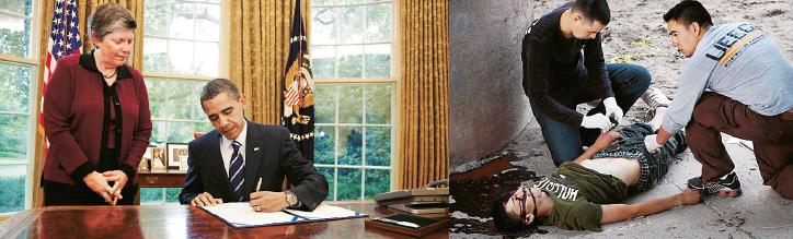 Vapenindustrins våta dröm Mattias Svensson Neo nr 6 2012 Barack Obama