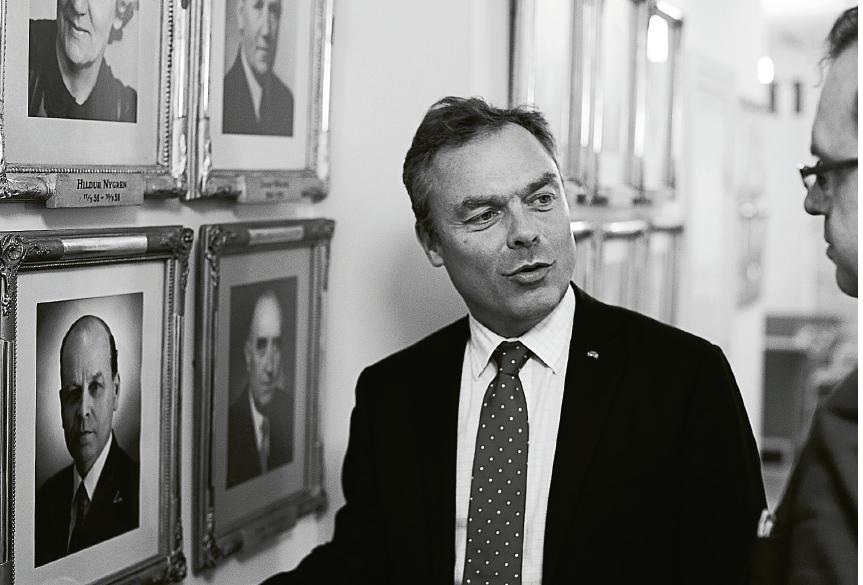 Jan Björklund Thomas Gür intervju Neo nr 6 2012 utbildningsministrar foto Christopher Hunt