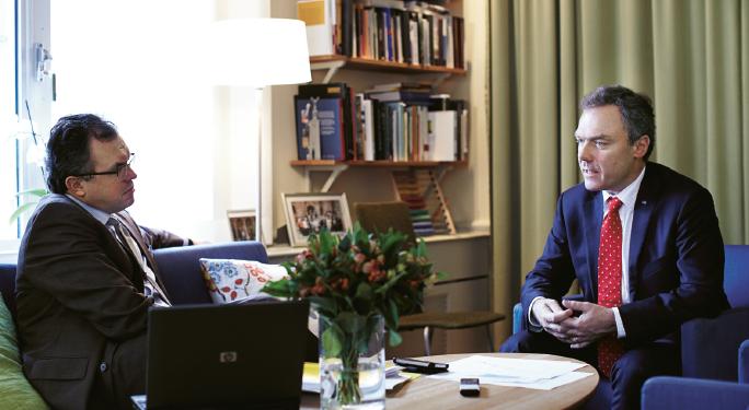 Jan Björklund Thomas Gür Neo nr 6 2012 intervju bild