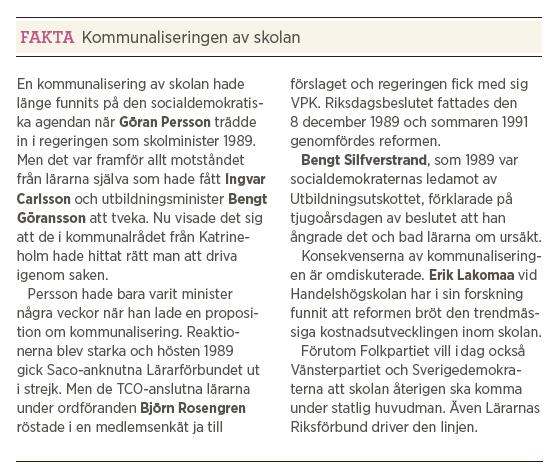 Jan Björklund intervju Neo nr 6 2012 Thomas Gür kommunalisering