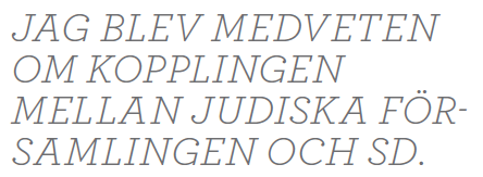 Ilmar Reepalu Malmö intervju Paulina Neuding Neo nr 2 2012 citat