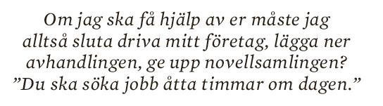 Jens Liljestrand essä 10 000 F-skatt skitliv prekariatet Neo nr 1 2013 citat3