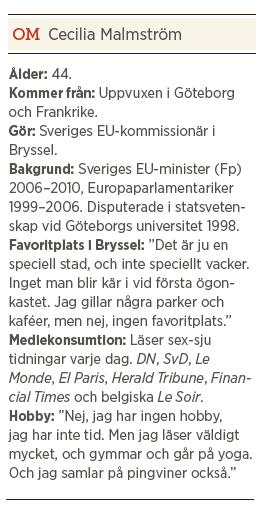Cecilia Malmström fakta intervju Paulina Neuding Neo nr 1 2013