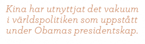 Ann-Sofie Dahl USA eller kaos Barack Obama Neo nr 5 2011 citat1