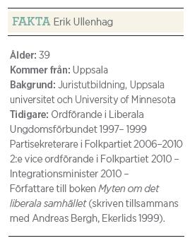 Erik Ullenhag Rinkeby torg intervju Paulina Neuding Neo nr 5 2011 fakta