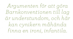 Mårten Schultz Barnens rätt är fel barnkonventionen Neo nr 4 2011 citat2