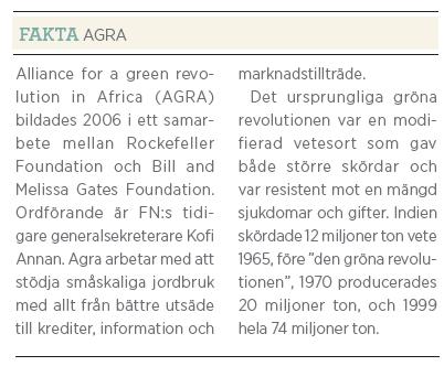 Gunilla Carlsson bistånd Fredrik Segerfeldt Mattias Svensson intervju Neo nr 3 2011 fakta Agra