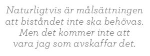 Gunilla Carlsson bistånd Fredrik Segerfeldt Mattias Svensson intervju Neo nr 3 2011 citat2