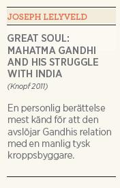 Kristian Hultqvist recension Joseph Lelyveld Great soul: Mahatma Gandhi and his struggle with India Neo nr 3 2011 sammanfattning