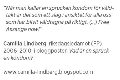Mårten Schultz Våldtäkt är ingen gummiparagraf Julian Assange Neo nr 2 2011 Camilla Lindberg