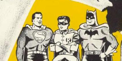"""Serietidningshjältarna som påstods orsaka """"sadism, masochism, homosexualitet, frigiditet och sexuell hypokondri"""" samt göra ungdomar fascistoida. Psykiatern Fredric Werthams påstådda forskning har nu granskats och avslöjats. Bilden från Nils Bejerot Barn–serier–samhälle (1954), en bok dedicerad till Wertham."""