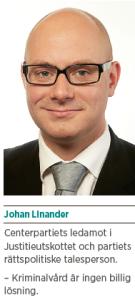Brott och straff och politik Andreas Ericson Neo nr 2 2013 Johan Linander Caroline Szyber Johan Pehrson Anti Avsan JL