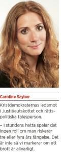 Brott och straff och politik Andreas Ericson Neo nr 2 2013 Johan Linander Caroline Szyber Johan Pehrson Anti Avsan CS