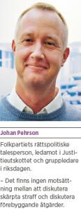 Brott och straff och politik Andreas Ericson Neo nr 2 2013 Johan Linander Caroline Szyber Johan Pehrson Anti Avsan JP