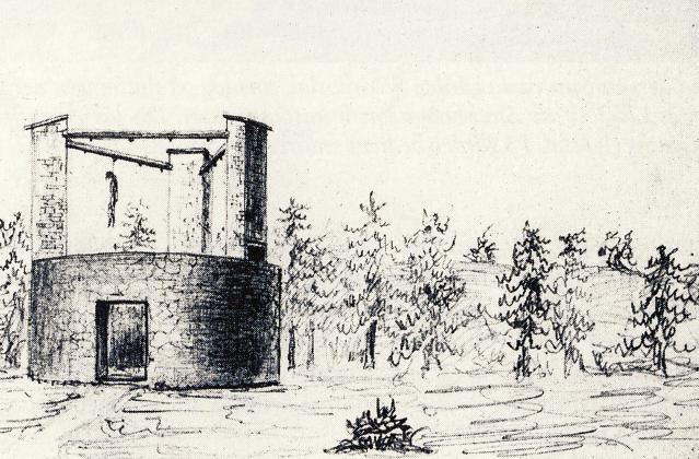 Bilden: Galgbacken i Hammarbyhöjden, avbildad under 1800-talet.