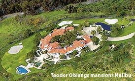 Leif Wenar porträtt Mattias Svensson Neo nr 1 2013 Teodor Obiangs mansion i Malibu