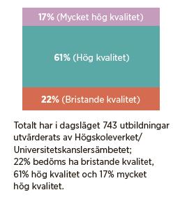 Universitetseländet kommentar Per Westman Universitetskanslersämbetet  Mattias Svensson Neo nr 3 2013