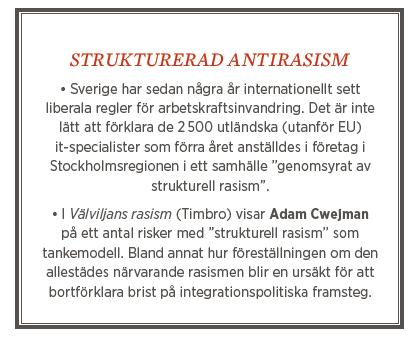 Neo nr 3 2013 Fredrik Johansson krönika Stefan Löfven rasism övrigt
