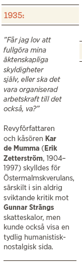 Högerhumor Kalle Lind Neo nr 3 2013 Kar de Mumma
