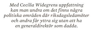Hans Lindblad Olyckorna Bildt, Björck och Borg essä Neo nr 3 2013 citat 6