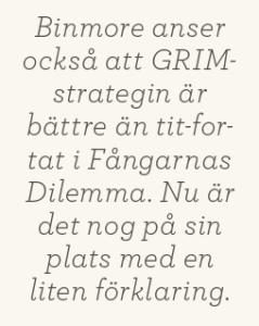 Patrik Strömer recension Ken Binmore Kort om spelteori Charles Wheelan Naked statistics Neo nr 4 2013 citat