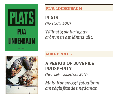 Linda Skugge recension Pija Lindenbaum Plats Mike Brodie A period of juvenile prosperity Neo nr 4 2013