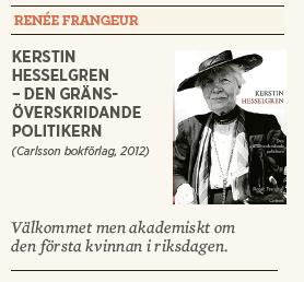 Hanna Lager recension Renée Frangeur Kerstin Hesselgren Neo nr 4 2013