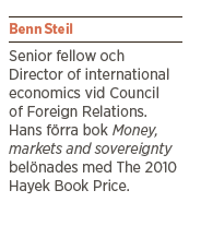 Benn Steil intervju Mattias Svensson The battle of Bretton Woods John Maynard Keynes Harry White Neo nr 4 2013 pres
