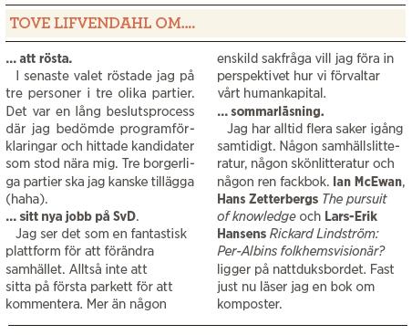 Intervju Tove Lifvendahl Svenska Dagbladet Fores Rosengård Neo nr 4 2013 Mattias Svensson om