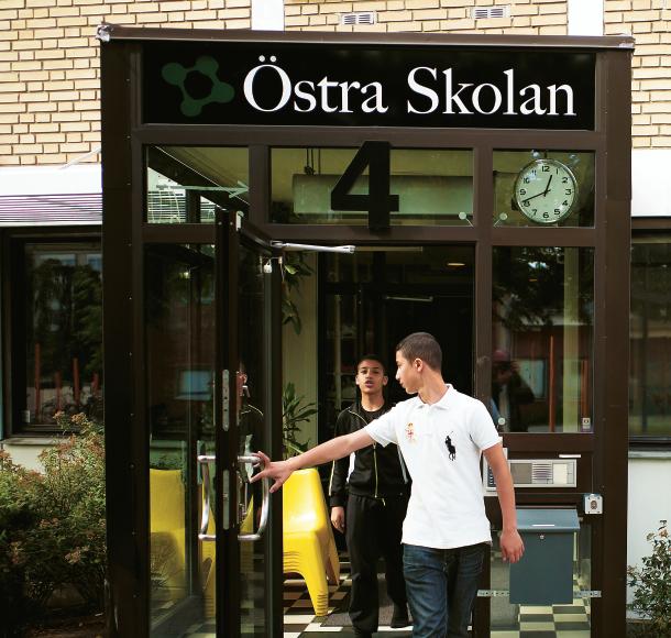 – Här finns elever från Kirseberg, Rosengård, Rörsjöstaden, Södra innerstaden, Värnhem och Oxie. Det är en mötesplats för elever från hela Malmö. Foto: Anders Hansson