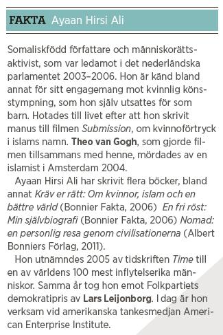 Niall Ferguson intervju Paulina Neuding västvärlden Neo nr 5 2013 Ayaan Hirsi Ali