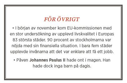 Fredrik Johansson krönika Stockholmsteorin om välfärden Neo nr 6 2013 fakta