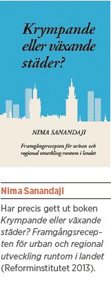 Nima Sanandaji Myten om den hippa staden Neo nr 6 2013 bok