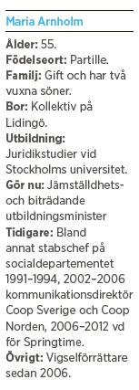 Maria Arnholm intervju Mattias Svensson jämställdhetsminister feminism folkpartiet Mattias Svensson Neo nr 6 2013
