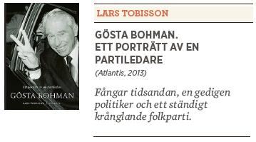 Mats Johansson recension Lars Tobisson Gösta Bohman Neo nr 6 2013