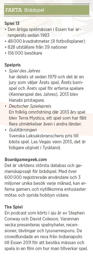 Patrik Strömer Tysk strategi erövrar världen brädspel gamer Neo nr 6 2013 brädspel info