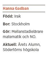 Hanna Gadban intervju Andreas Ericson Neo nr 6 2013  Vi behöver en svensk vår fakta