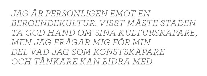 Lizzie Oved Scheja Festen fortsätter i Berlin kultur Neo nr 6 2013 citat3