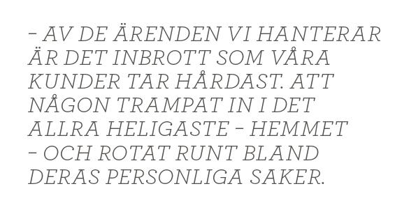 Mattias Svensson inbrott polisen Fredrik Gårdare, Håkan Franzén, Anders Burén Neo nr 1 2014  citat1