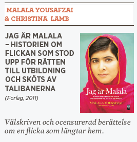 Hanna Lager recension Malala Yousafzai & Christina  Lamb Jag är Malala Neo nr 1 2014