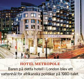 "Bengt Nilsson Roland Tiny Rowlands Afrika en liten rest av ""Tinys"" imperium Neo nr 1 2014 Metropole"
