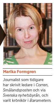 Marika formgren reflektion Maria Arnholm Neo nr 1 2014