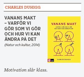Charles Duhiggs Vanans makt – varför vi gör som vi gör och hur vi kan ändra på det Linda skugge recension Neo nr 2 2014