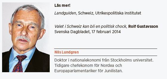 Nils Lundgren Schweiz EU Neo nr 2 2014