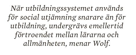 SInger Enkvist skola utbildning vänstern meritokrati Alva Myrdal Stellan Arvidsson Tage Erlander Neo nr 3 2014  citat2