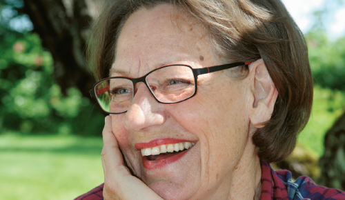 – Jag var övertygad om att budskapet skulle gå fram, säger Gudrun Schyman om sitt omtalade pengabål i Almedalen.