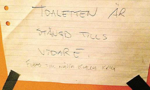 Andreas Ericson Dags att laga toaletten Neo nr 3 2014