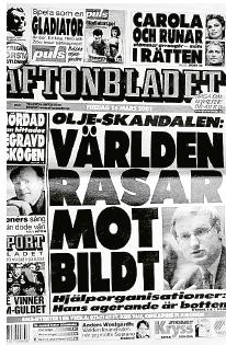 Bengt Nilsson Bush, Bildt och barnsoldater Ian Lundin Neo nr 3 2014