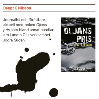 Bengt Nilsson Bush, Bildt och barnsoldater Ian Lundin Neo nr 3 2014 Oljans pris